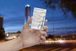 Business Card Hand Mockup - originalmockup ORACION POR LA PATRIA