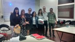 Mesa 1 Evaluación de Proyectos tipográficos. Esteban Diehl, María Constanza Milanese, Eliana Perniche, Marcela Romero