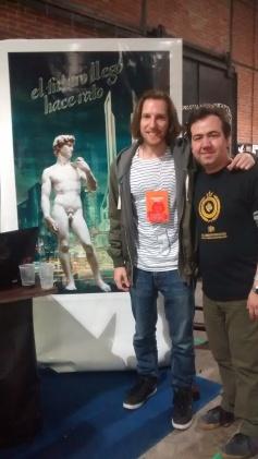 Con Fernando Cozzi